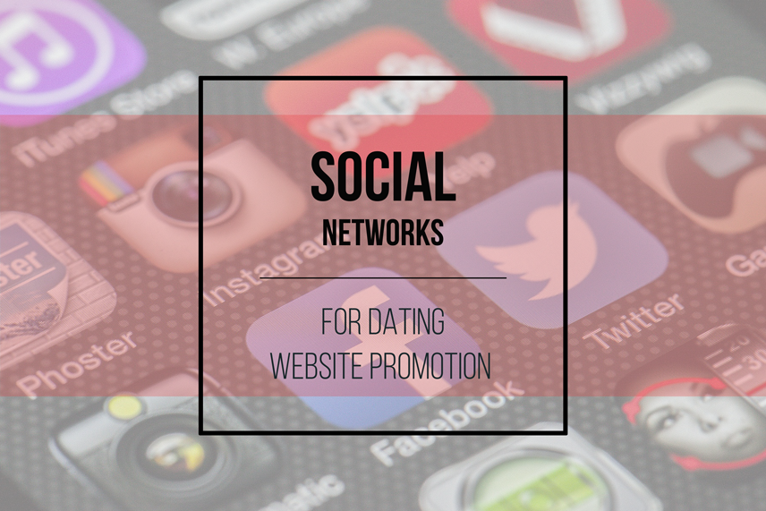 Social Networks for Dating Website Promotion