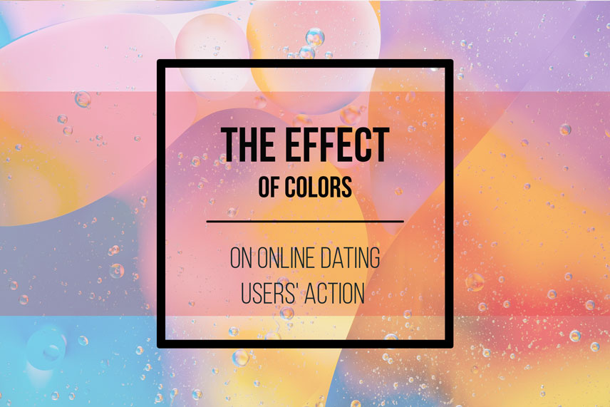 The effect of colors on online dating users' action