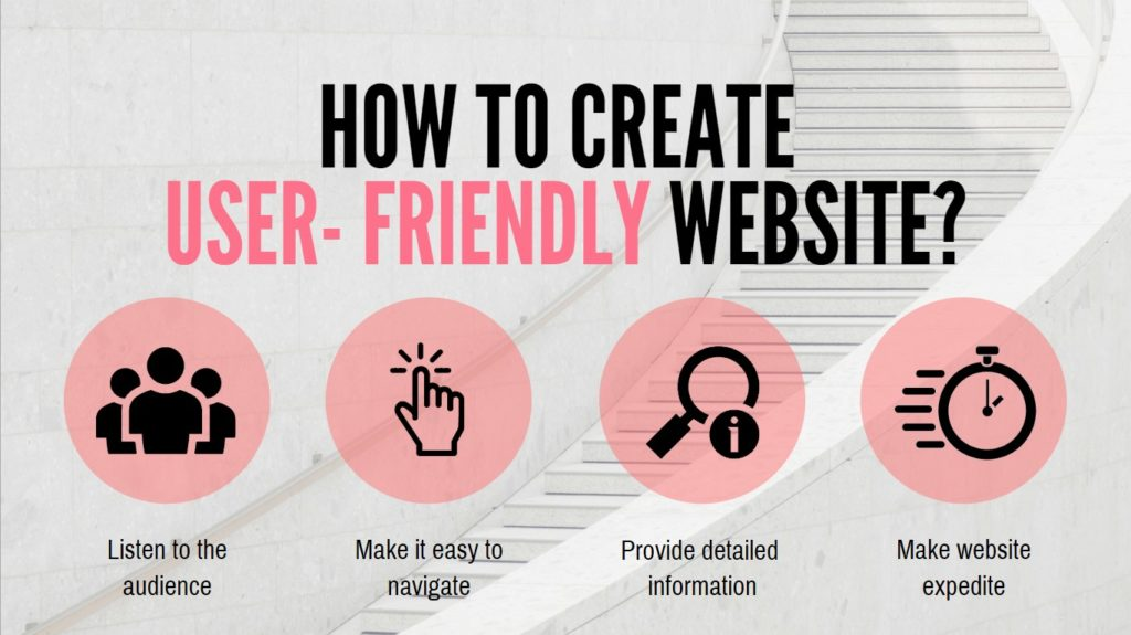 How to create a user-friendly website
